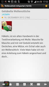 Wellensittich-Android-App